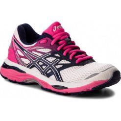 Buty ASICS - Gel-Cumulus 18 T6C8N White/Indigo Blue/Hot Pink 0149. Czarne buty do biegania damskie marki Asics. W wyprzedaży za 279,00 zł.