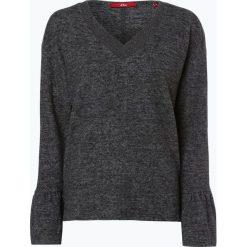 Swetry klasyczne damskie: s.Oliver Casual – Sweter damski, szary