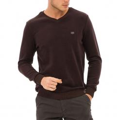 Sweter w kolorze brązowym. Brązowe swetry klasyczne męskie GALVANNI, l. W wyprzedaży za 159,95 zł.