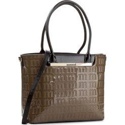 Torebka MONNARI - BAGA680-015 Beige. Brązowe torebki klasyczne damskie Monnari, ze skóry ekologicznej. W wyprzedaży za 149,00 zł.