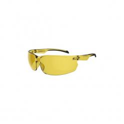 Okulary przeciwsłoneczne na rower ST100 żółte KAT. 1. Żółte okulary przeciwsłoneczne damskie aviatory B'TWIN, z gumy. Za 19,99 zł.