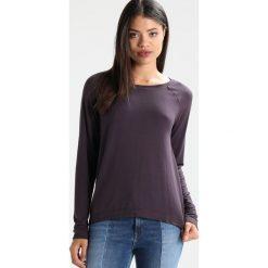 Bluzki asymetryczne: Juvia CREW NECK SHIRT Bluzka z długim rękawem plum grey