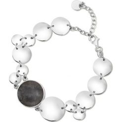 PROMOCJA Bransoletka Srebrna - srebro 925, Obsydian. Czarne bransoletki damskie na nogę marki Stylowa biżuteria, srebrne. W wyprzedaży za 249,00 zł.