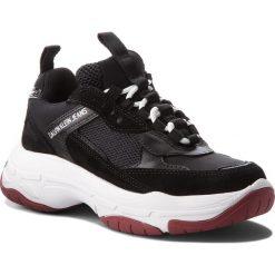 Sneakersy CALVIN KLEIN JEANS - Maya R0802 Black. Czarne sneakersy damskie marki Calvin Klein Jeans, z jeansu. Za 719,00 zł.