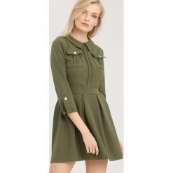 Ciemnozielona Sukienka Believe It. Zielone sukienki mini marki other, uniwersalny. Za 89,99 zł.