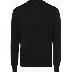Andrew James - Sweter męski z dodatkiem kaszmiru, szary. Szare swetry klasyczne męskie Andrew James, m, z kaszmiru. Za 229,95 zł.