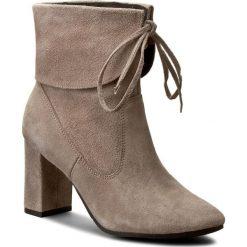 Botki OLEKSY - 368/609 Beżowy. Szare buty zimowe damskie marki Oleksy, ze skóry. W wyprzedaży za 249,00 zł.