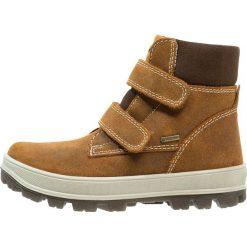 Superfit TEDD Śniegowce fudge. Brązowe buty zimowe chłopięce marki Superfit, z materiału. W wyprzedaży za 239,40 zł.