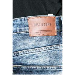 Only & Sons - Jeansy Weft. Niebieskie jeansy męskie regular marki Only & Sons. W wyprzedaży za 69,90 zł.
