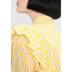 Koszule wiązane damskie: Noisy May NMJACK Koszula lemon chrome/bright white