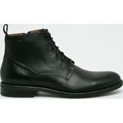 Vagabond - Buty Salvatore. Czarne buty wizytowe męskie marki Vagabond, z gumy, na sznurówki. Za 629,90 zł.