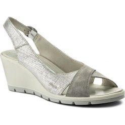 Rzymianki damskie: Sandały IMAC – 107581 Silver/Grey 72129/018