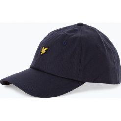 Lyle & Scott - Męska czapka z daszkiem, niebieski. Niebieskie czapki z daszkiem męskie Lyle & Scott. Za 129,95 zł.