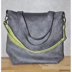Torba hobo rozm. L - fuksja, kobalt.pomarańcz. Czerwone torebki klasyczne damskie Pakamera, z syntetyku. Za 119,00 zł.