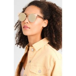 Okulary przeciwsłoneczne damskie: Quay THE IN CROWD Okulary przeciwsłoneczne gold
