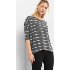 Sweter oversize w paski. Szare swetry oversize damskie Orsay, xs, z dzianiny. Za 49,99 zł.