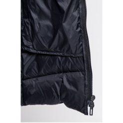 Adidas Performance - Kurtka puchowa. Czarne kurtki damskie pikowane adidas Performance, l, z elastanu, z kapturem. Za 749,90 zł.
