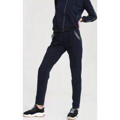Spodnie dresowe damskie: Granatowe Spodnie Dresowe Egoist