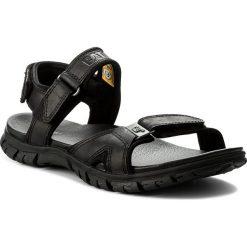 Sandały CATERPILLAR - Brantley P722273 Black. Czarne sandały męskie skórzane marki Caterpillar. W wyprzedaży za 259,00 zł.