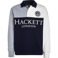Hackett London Koszulka polo navy/grey. Niebieskie bluzki dziewczęce bawełniane marki Hackett London. W wyprzedaży za 272,30 zł.