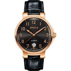 ZEGAREK DOXA II Duca Automatic 130.90.125.01. Czarne zegarki męskie DOXA, ze stali. Za 2990,00 zł.