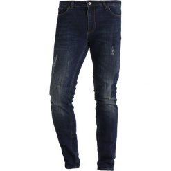Pier One Jeansy Slim Fit darkblue denim. Niebieskie jeansy męskie marki Pier One. W wyprzedaży za 126,65 zł.