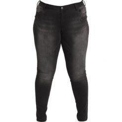 Boyfriendy damskie: Zizzi SANNA Jeansy Slim Fit black washed