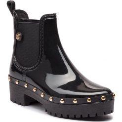Kalosze GIOSEPPO - 45827 Black. Czarne buty zimowe damskie Gioseppo, z materiału. Za 209,00 zł.