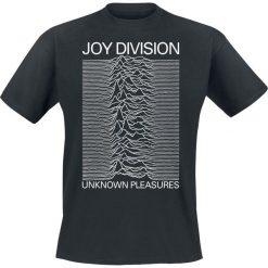 Joy Division Unknown Pleasures T-Shirt czarny. Czarne t-shirty męskie z nadrukiem marki Joy Division, m, z okrągłym kołnierzem. Za 74,90 zł.