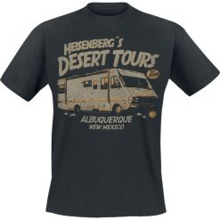 Breaking Bad Heisenberg Desert Tours T-Shirt czarny. Czarne t-shirty męskie Breaking Bad, m. Za 74,90 zł.