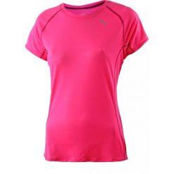Koszulka sportowa damska PUMA RUNNING SHORT SLEEVE TEE / 513813-10 - PUMA RUNNING SHORT SLEEVE TEE. Różowe topy sportowe damskie Puma. Za 69,00 zł.