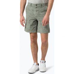 BOSS Casual - Spodenki męskie – Siman2_Shorts-D, zielony. Zielone bermudy męskie BOSS Casual, z nadrukiem, z bawełny, casualowe. Za 429,95 zł.