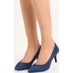 Buty ślubne damskie: Granatowe Czółenka Hindsight
