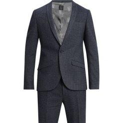 Shelby & Sons AYR SUIT SLIM FIT Garnitur blue. Niebieskie garnitury Shelby & Sons, z materiału. Za 839,00 zł.