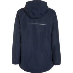 Jack Wolfskin ICELAND 3IN1 Kurtka hardshell midnight blue. Niebieskie kurtki chłopięce marki Jack Wolfskin, z hardshellu, outdoorowe. W wyprzedaży za 311,35 zł.