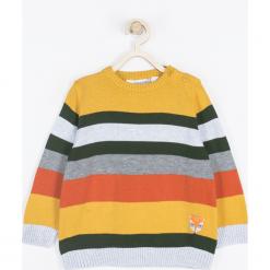 Sweter. Szare swetry chłopięce FOREST, na jesień, z aplikacjami, z bawełny. Za 75,90 zł.