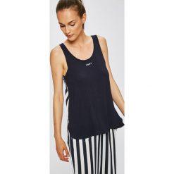 Dkny - Top piżamowy. Szare piżamy damskie marki DKNY, m, z elastanu. W wyprzedaży za 149,90 zł.