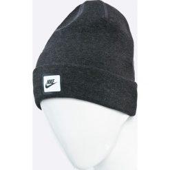 Nike Sportswear - Czapka. Czarne czapki zimowe męskie Nike Sportswear, z bawełny. W wyprzedaży za 69,90 zł.