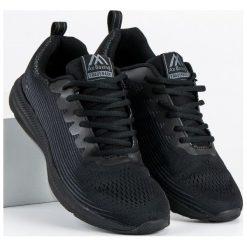 Buty skate męskie: Materiałowe obuwie męskie AX BOXING czarne