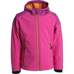 CMP GIRL FIX HOOD JACKET Kurtka z polaru hot pink. Czerwone kurtki dziewczęce marki CMP, z materiału. Za 209,00 zł.