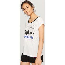 Piżamy damskie: Dwuczęściowa piżama - Biały