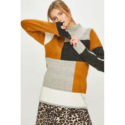 Answear - Sweter. Szare swetry klasyczne damskie ANSWEAR, m, z dzianiny. Za 169,90 zł.