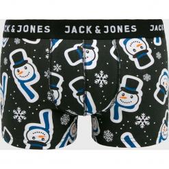 Jack & Jones - Bokserki. Czarne bokserki męskie marki Jack & Jones, l, z bawełny, z klasycznym kołnierzykiem, z długim rękawem. Za 59,90 zł.