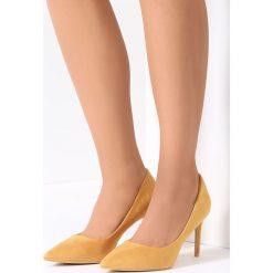 Szpilki: Żółte Szpilki Showgirl