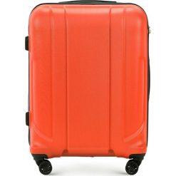 01d30ce340d46 Walizka średnia 56-3P-862-55. Pomarańczowe walizki Wittchen, bez wzorów