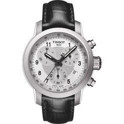 RABAT ZEGAREK TISSOT T-SPORT. Czarne zegarki męskie TISSOT, ze stali. W wyprzedaży za 1315,60 zł.