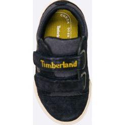Timberland - Tenisówki dziecięce. Czarne buty sportowe chłopięce marki Timberland, z materiału. W wyprzedaży za 139,90 zł.