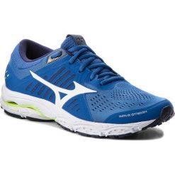 Buty MIZUNO - Wave Stream J1GC181901  Granatowy. Niebieskie buty do biegania męskie Mizuno, z materiału, mizuno wave. W wyprzedaży za 249,00 zł.