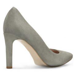 Czółenka FIORITA. Szare buty ślubne damskie Gino Rossi, ze skóry. Za 229,90 zł.