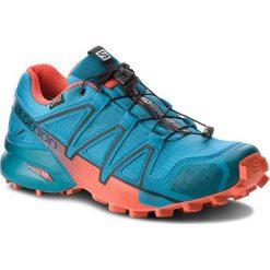 Buty SALOMON - Speedcross 4 Gtx GORE-TEX 404665 27 G0  Fjord Blue/Cherry Tomato/Black. Czarne buty do biegania męskie marki Camper, z gore-texu, gore-tex. W wyprzedaży za 489,00 zł.